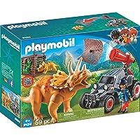 PLAYMOBIL - 9434 - Bandit avec tricératops