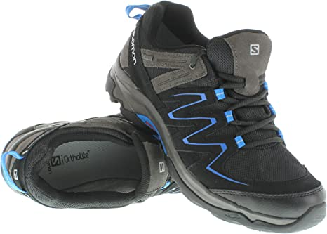 SALOMON Glenwood GTX Zapatillas de Senderismo Gris Azul para Hombre Gore Tex: Amazon.es: Deportes y aire libre