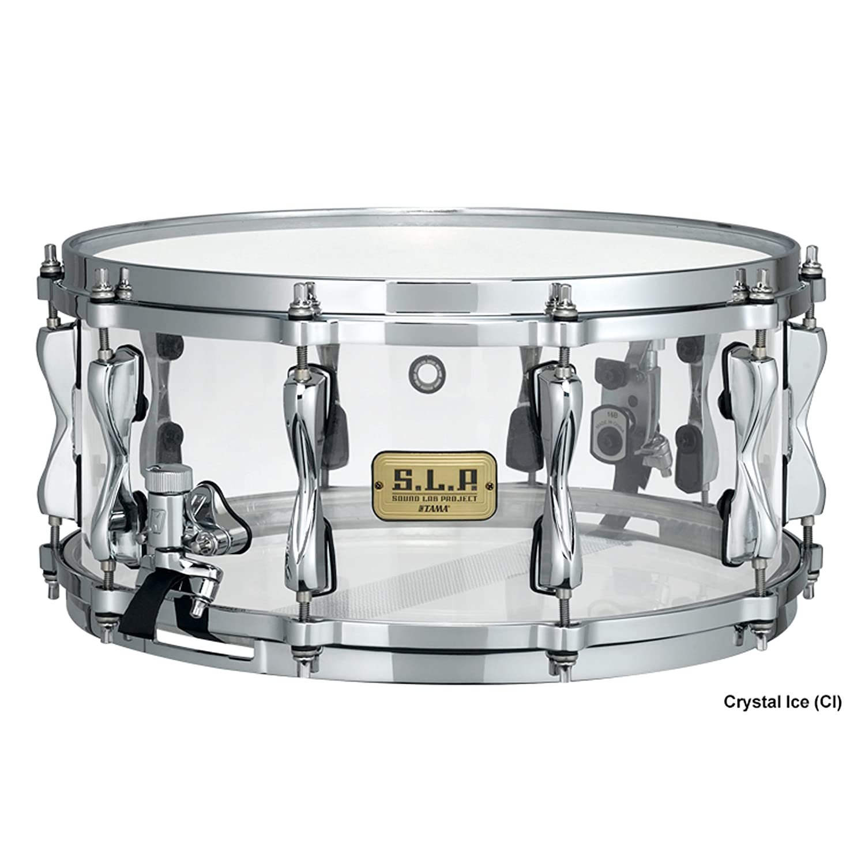 S.L.P. Snare LAC1465-CI, Mirage Acrylic: Amazon.co.uk: Musical ...