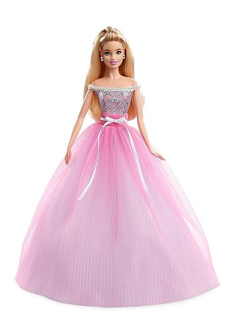 2017mattel CollectorMuñeca Dvp49 Feliz Barbie Cumpleaños 43qA5jRL