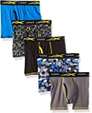 Amazon Price History for:Hanes Big Boys' Active Cool X-Temp Boxer Brief 5-Pack