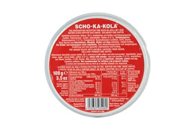 Chocolate SCHO-KA-KOLA mezclado para probar leche entera + amargo oscuro por cada 100 g: Amazon.es: Alimentación y bebidas