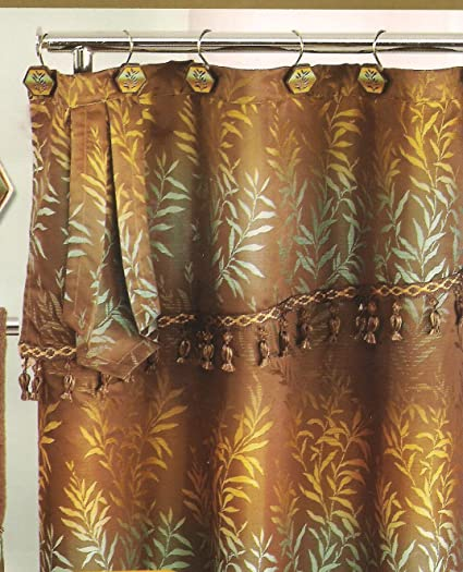 Amazon.com: Exotic Shower Curtain (Chocolate): Home & Kitchen