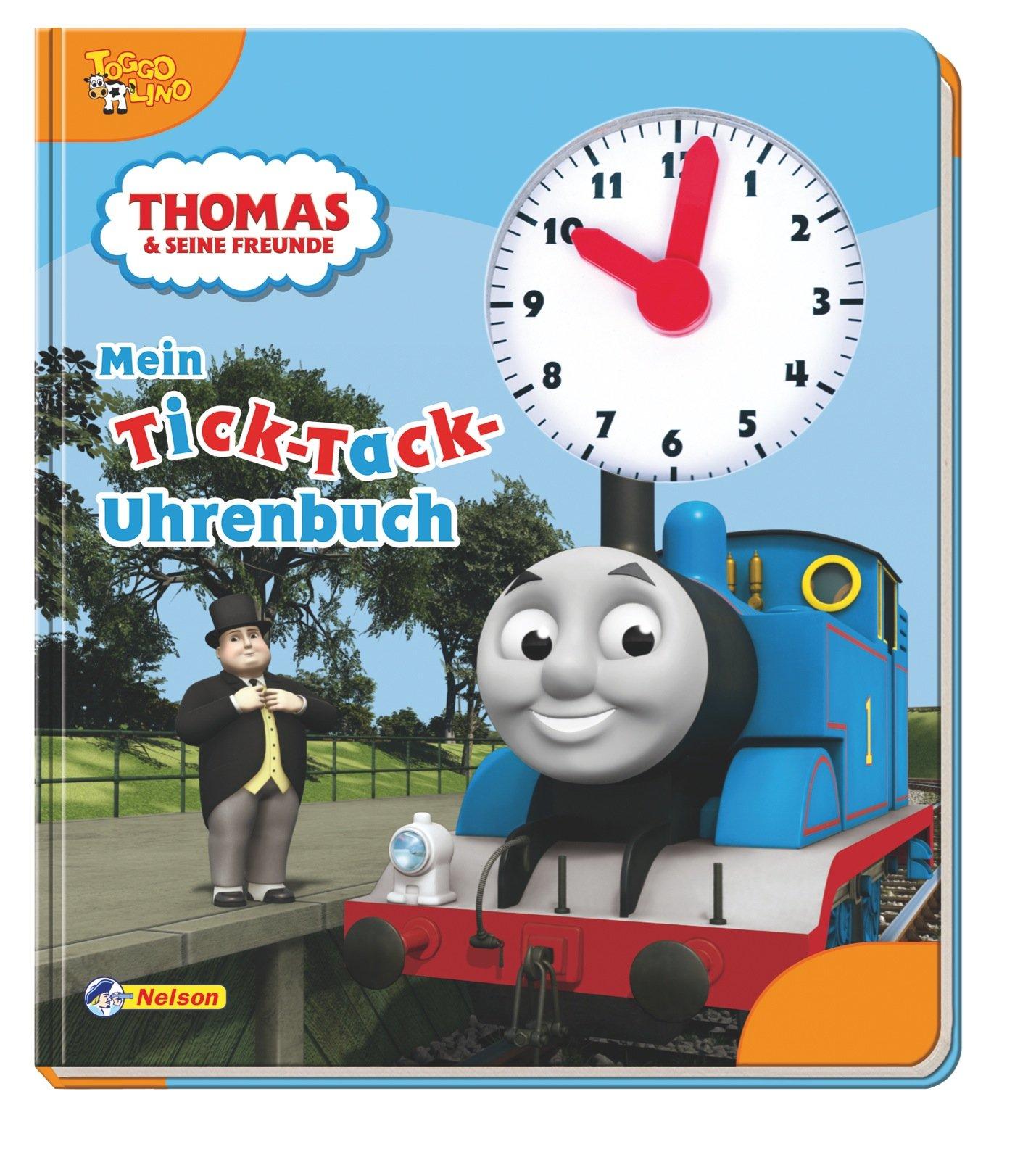 Thomas und seine Freunde: Mein Tick-Tack-Uhrenbuch