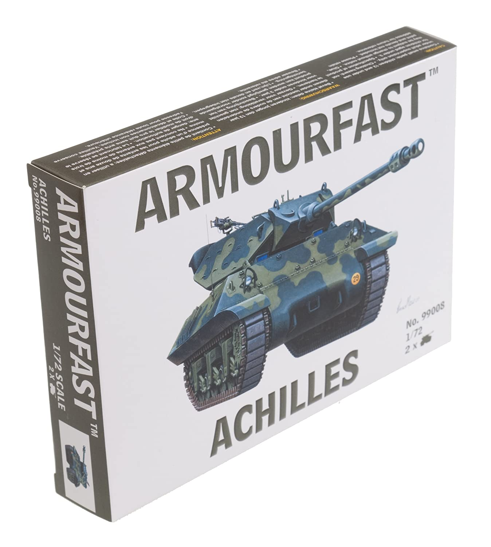 Contains 2 Tanks Armourfast 1//72 British Sherman Firefly Tank Model Kit