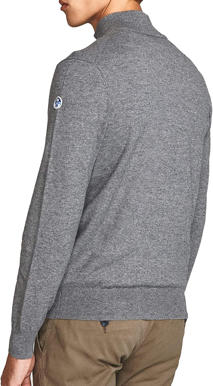NORTH SAILS Wool Zip-Up Cardigan