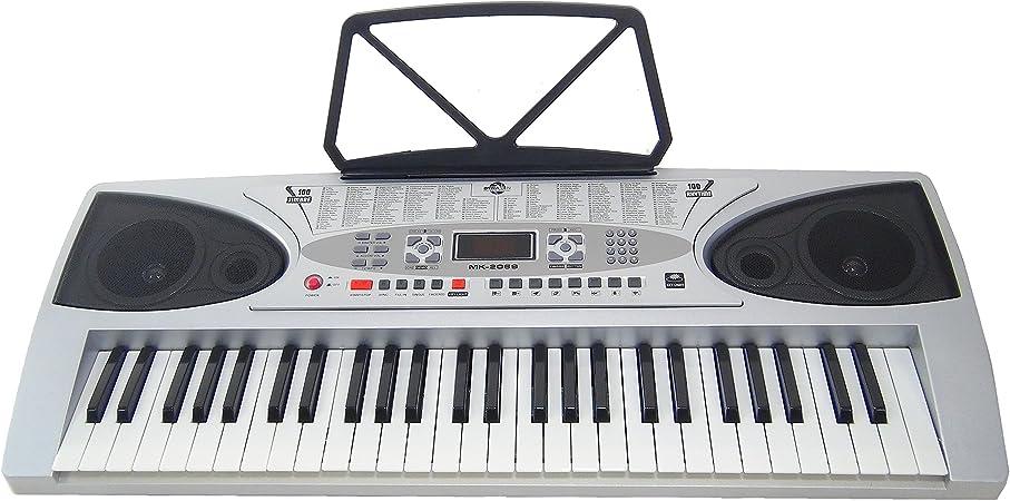 Teclado 54 teclas DynaSun MK2069 Key Lighted LCD Keyboard E-Piano Electronico Digital, Función de enseñanza inteligente