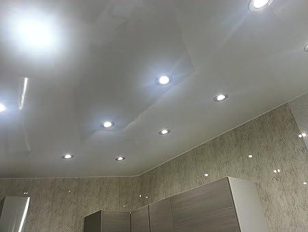 8 Plain White Gloss Pvc Bathroom Cladding Shower Wall Panels Amazon Co Uk Kitchen Home