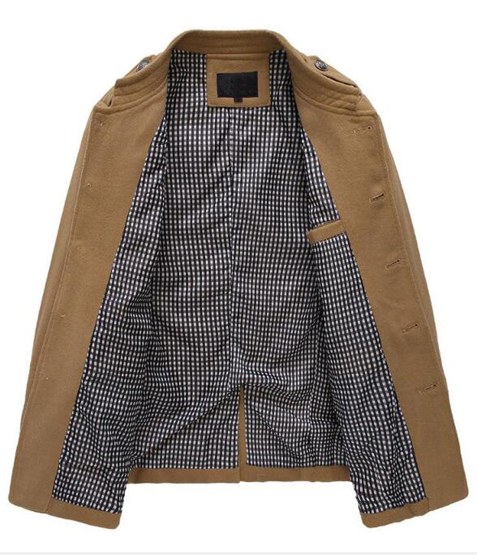 XXZTQ Men's Winter Fashion Windbreaker