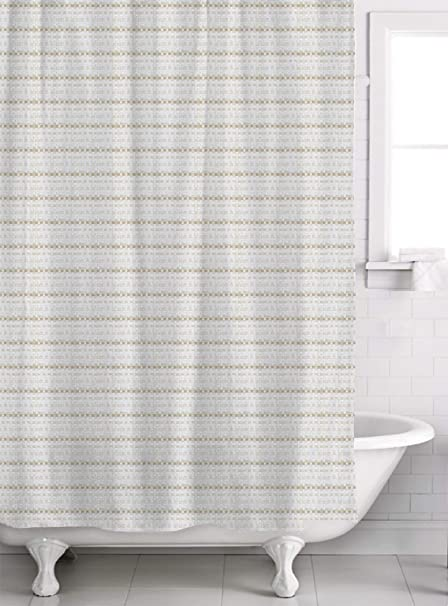 Famous Home Mezza Champagne Shower Curtain 70 X 72 Amazonin Kitchen