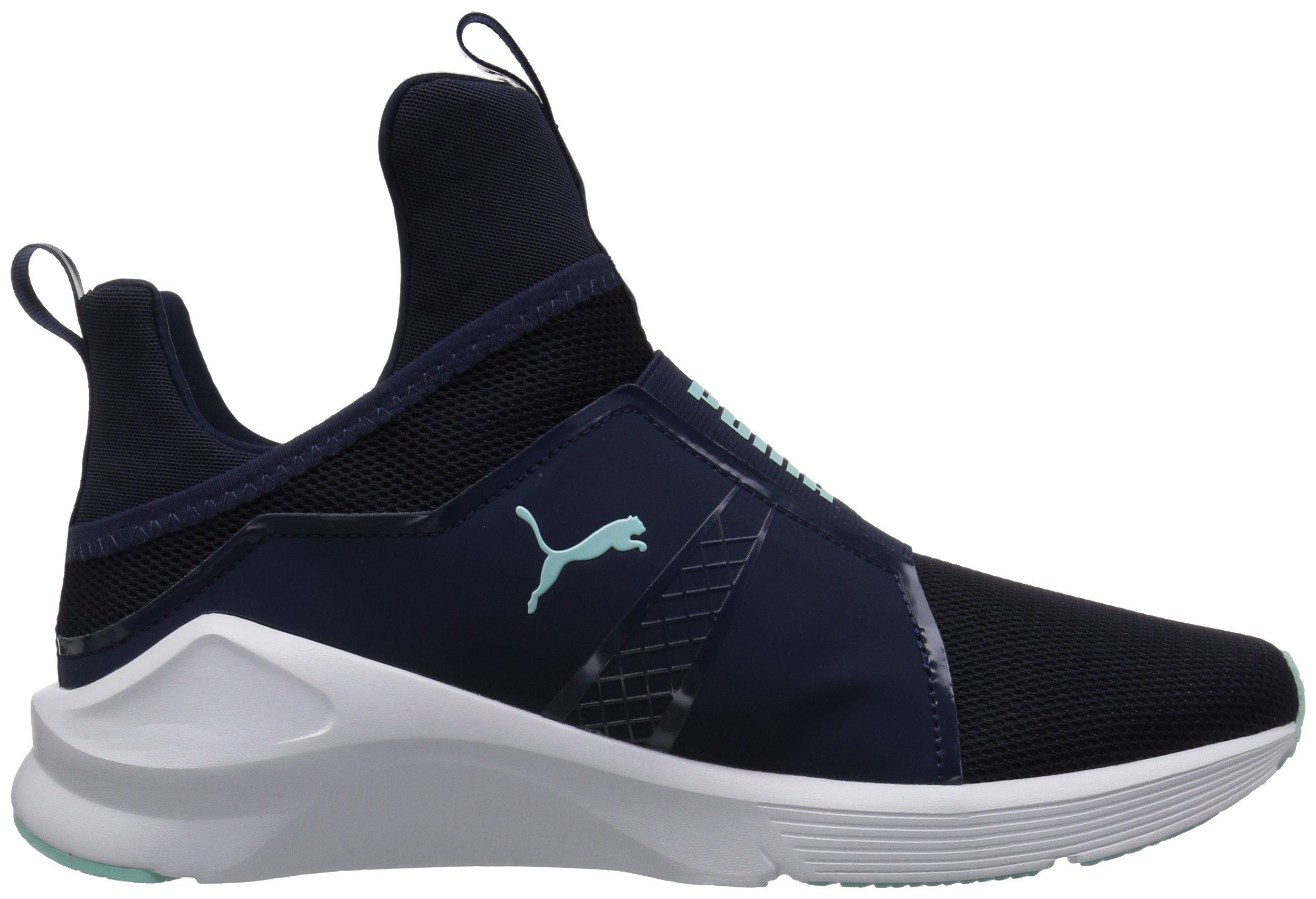 PUMA Women's Fierce Core Sneaker, Peacoat-Island Paradise, 9 M US by PUMA (Image #7)