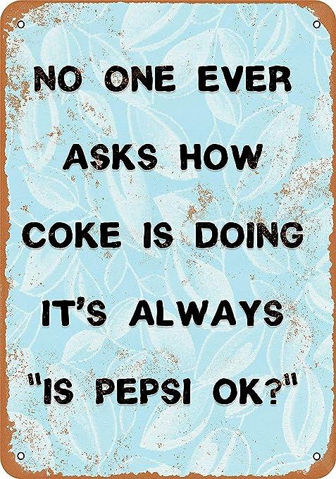 Kia Haop No One Ever Asks How Coke Is Doing. Its Always Is ...