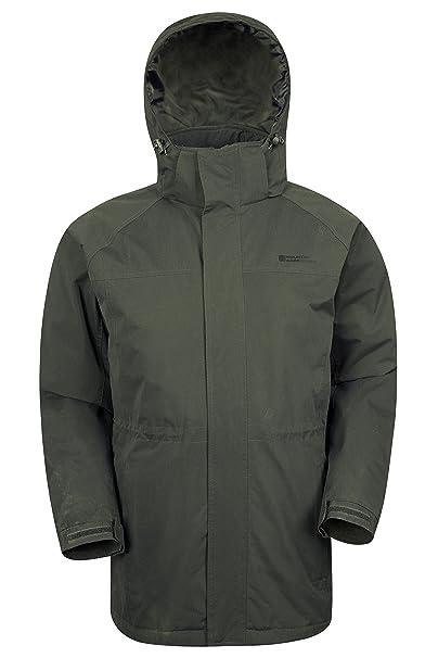 Mountain Warehouse Westport Mens Long Jacket Water Resistant