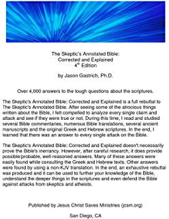 The Skeptics Annotated Bible: Corrected and Explained, The Collegiate Workbook
