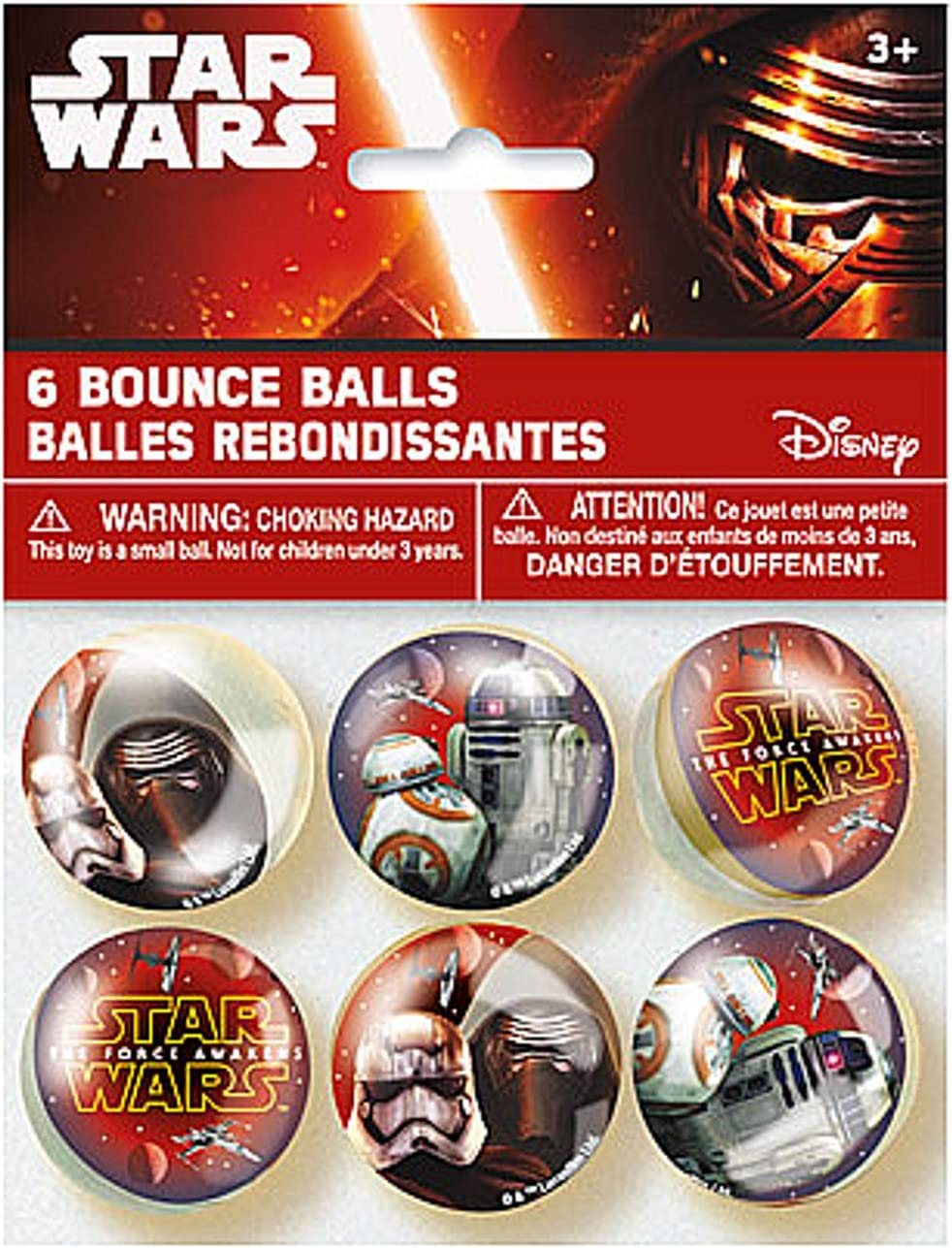 Star Wars Party Favor Bounce Balls