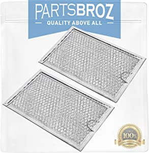5304464105 (2-Pack) Air Filter for Frigidaire Microwaves by PartsBroz - Replaces Part Numbers AP4322869, 1381132 & PS1993472