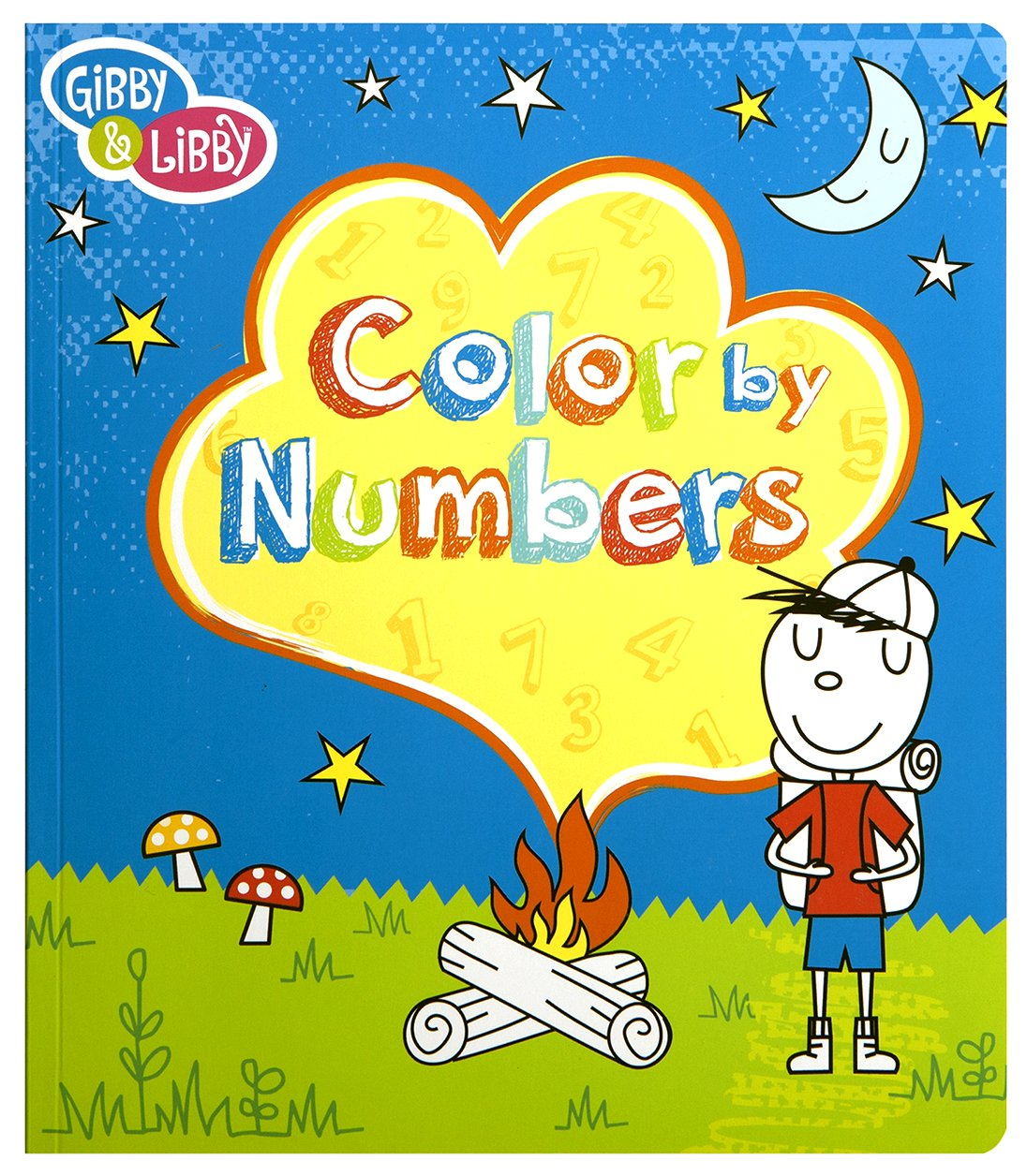 C.R Gibson Kids Color by Numbers Book for Boys 80 Pages 9.75/'/' H x 8.5/'/' W Book BCNB-14585 9.75 H x 8.5 W Book