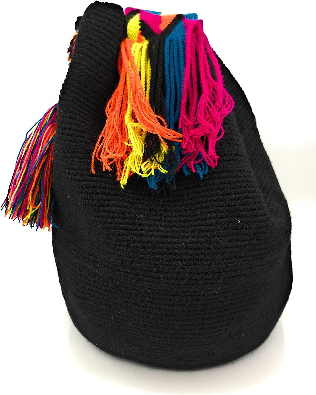 Wayuu Backpack, Handmade Colombian Handbags, both for women and men. Delicias
