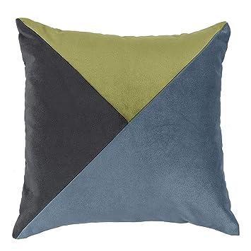 McAlister Textiles Patchwork Diagonal | Housse de Coussin ...