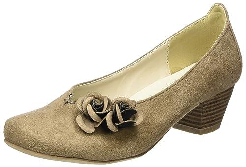 3001514, Zapatos de Tacón con Punta Cerrada para Mujer, Azul (Jeans 274), 39 EU Hirschkogel