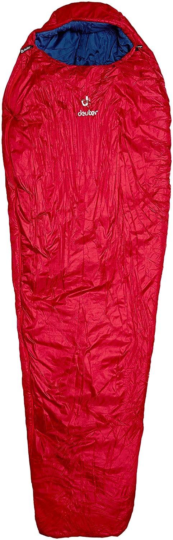 Deuter Orbit -5° - L - Saco de Dormir, Unisex Adulto, Rojo(Cranberry-Steel): Amazon.es: Deportes y aire libre