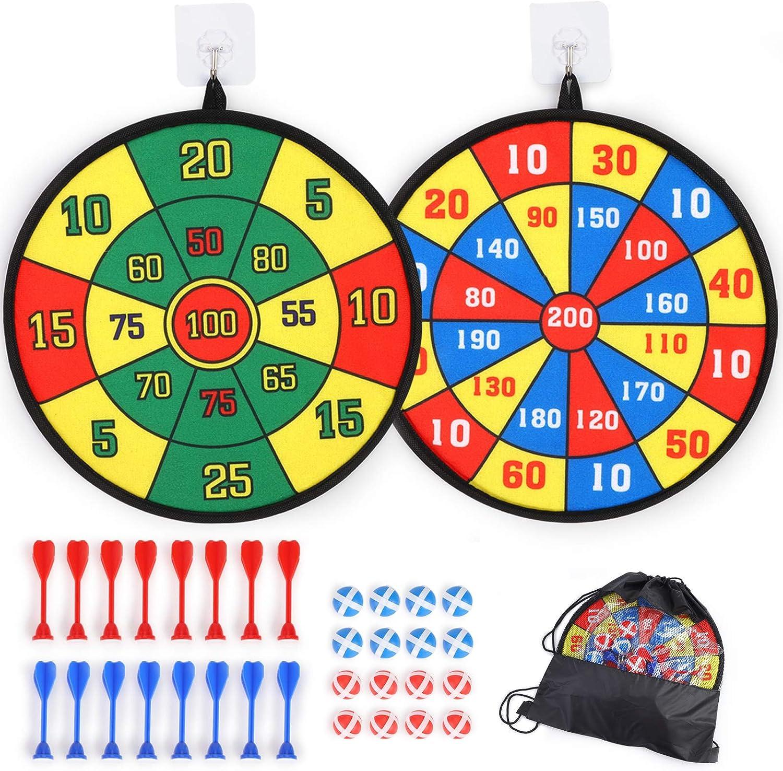 2 Pack Dartboards for Kids