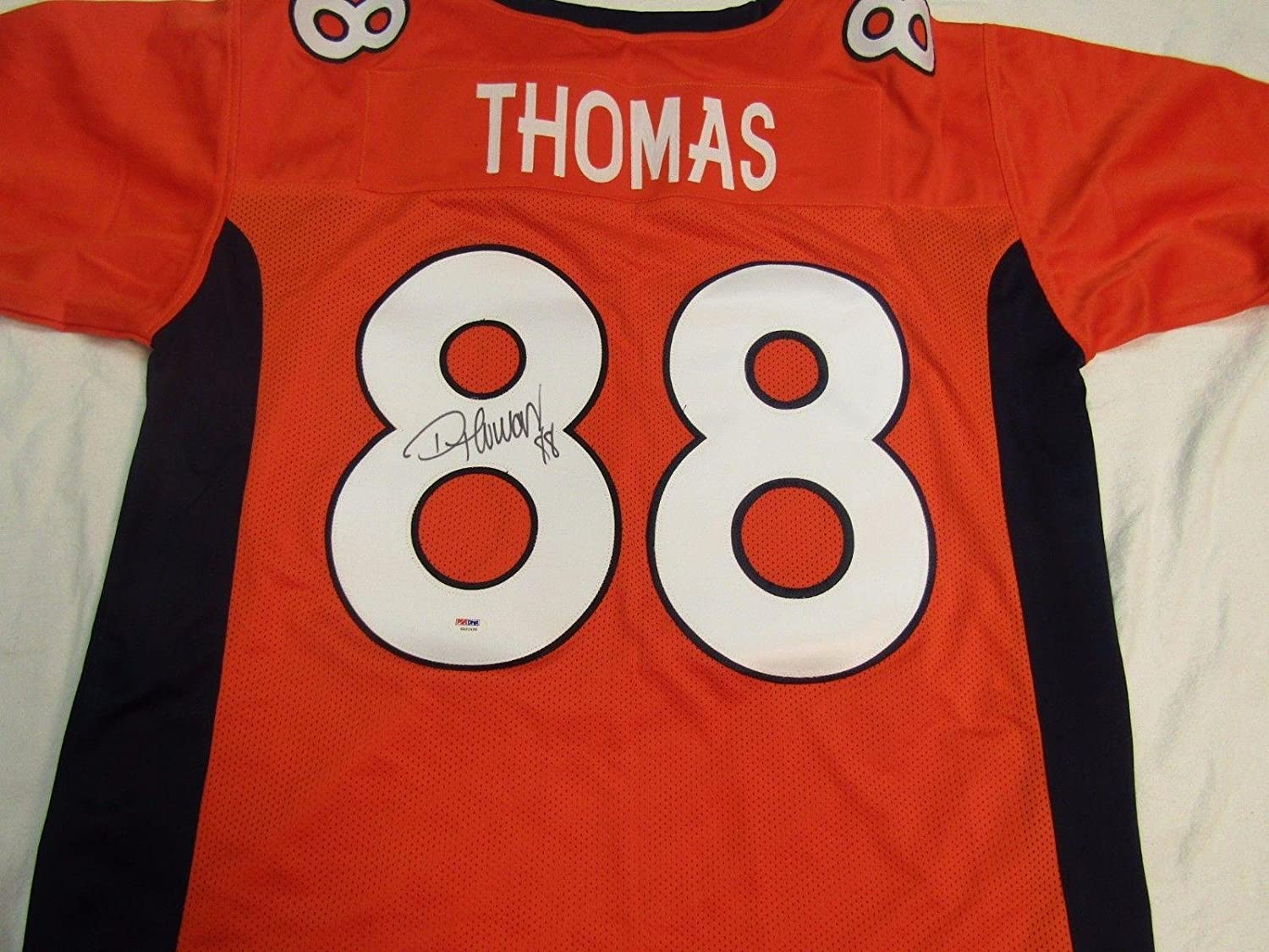 158fa9c88fb Amazon.com  Autographed Demaryius Thomas Jersey - COA - PSA DNA Certified -  Autographed NFL Jerseys  Sports Collectibles