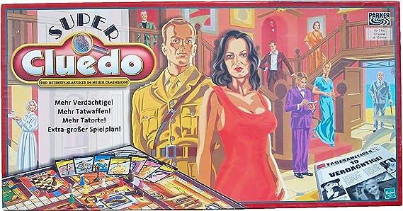 Desconocido Hasbro 5864100 - Super Cluedo [Importado de Alemania]: Amazon.es: Juguetes y juegos