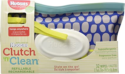 HUGGIES Natural Care Unscented Baby Wipes 1 Clutch /'... Sensitive Water-Based