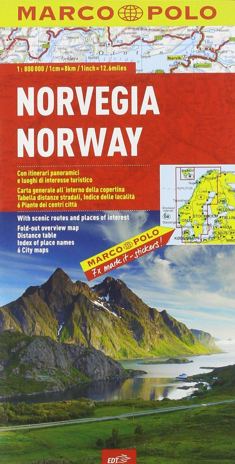 Cartina Norvegia Stradale.Norvegia 1 800 000 9788866390619 Amazon Com Books