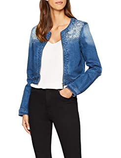 Jeans it Only in AKM DNM Frill Onlsia Jacket Giacca Donna Amazon W0qpgS