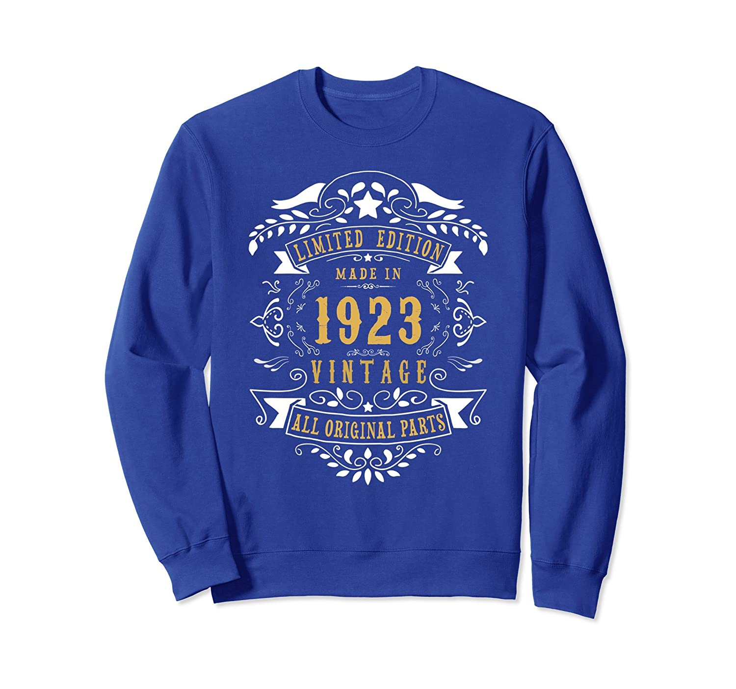 95 years Old Made In 1923 95th Birthday Gift Sweatshirt-TH