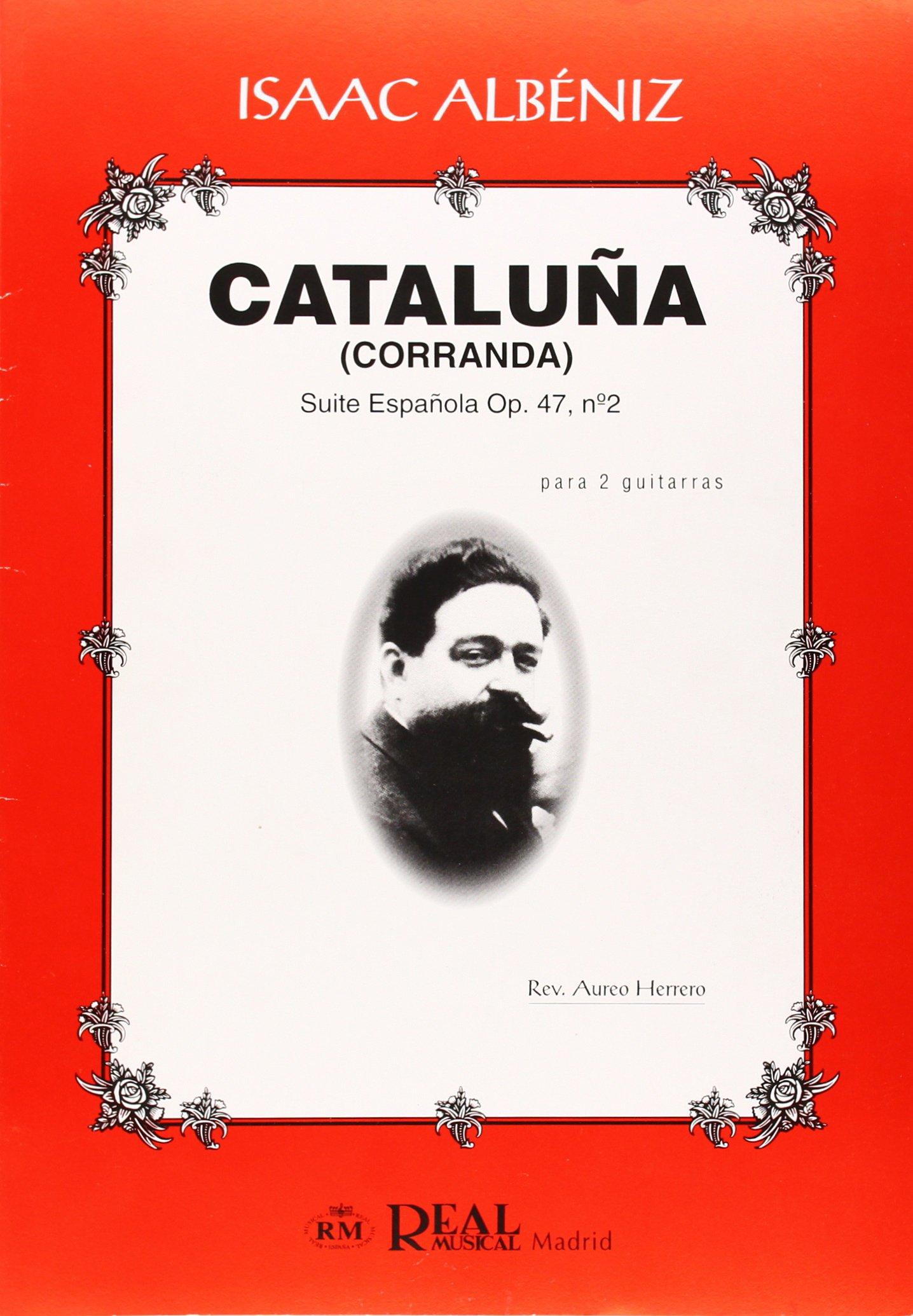 Isaac Albéniz: Cataluña Corranda , Suite Española Op.47 No.2 para ...