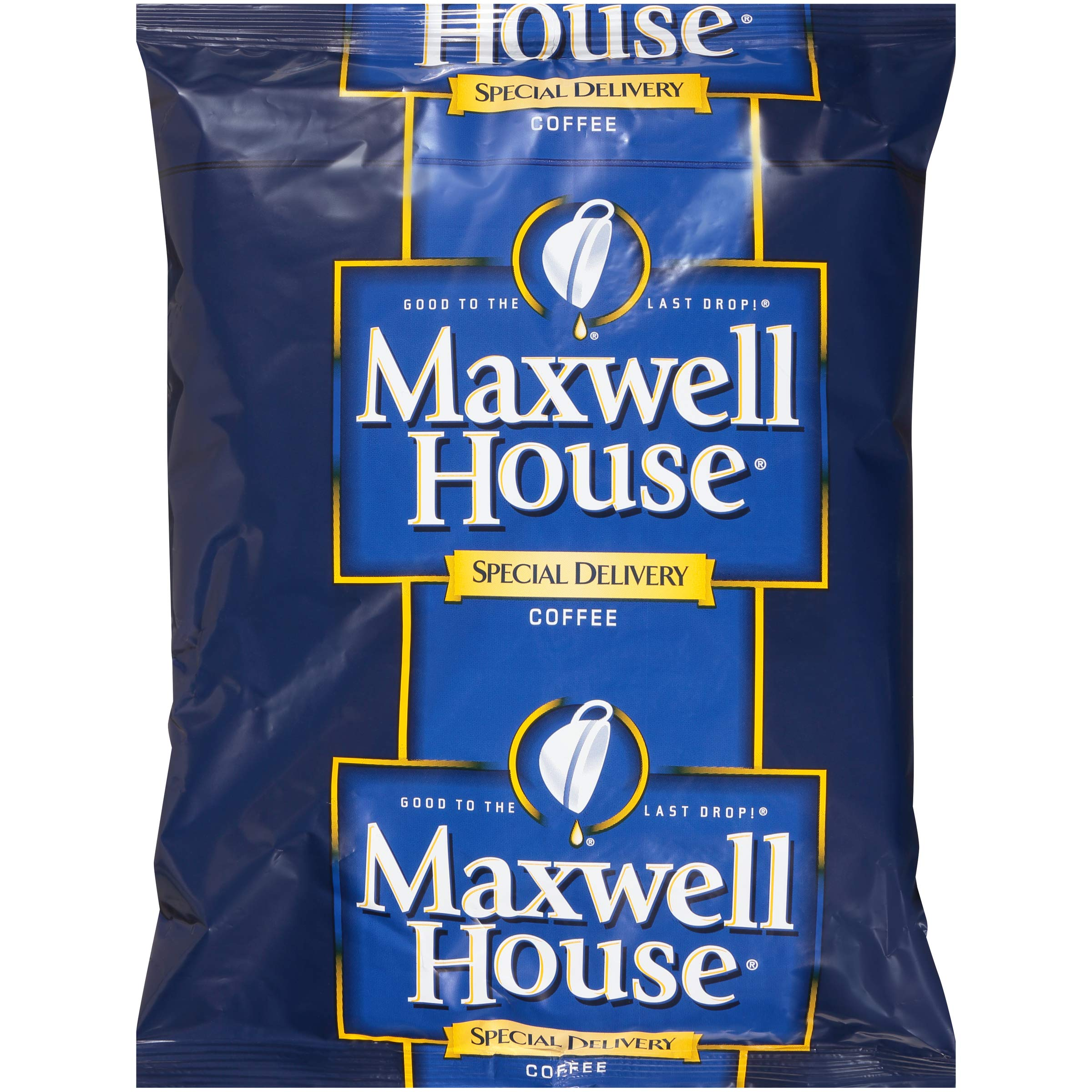 Maxwell House Special Delivery Cafe Ground Coffee (1.4 oz Bags, Pack of 112)