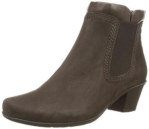 Gabor Sound - Botines Bajos con Forro cálido de Cuero Mujer, Color marrón, Talla 40: Amazon.es: Zapatos y complementos