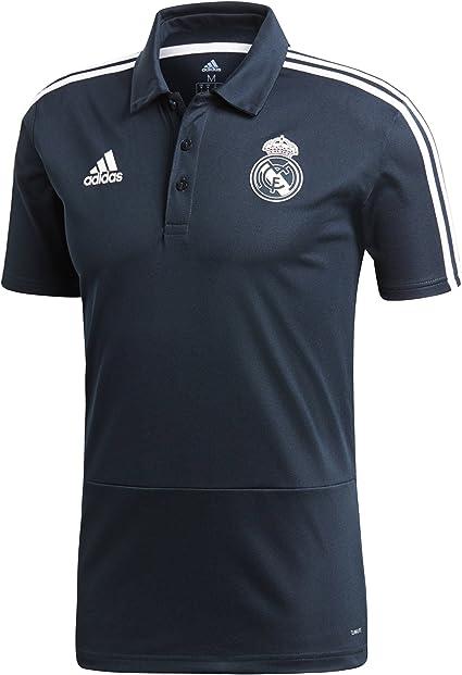 adidas Real Madrid Polo, Hombre, Gris (ónitéc/Negro/blabas), XS ...