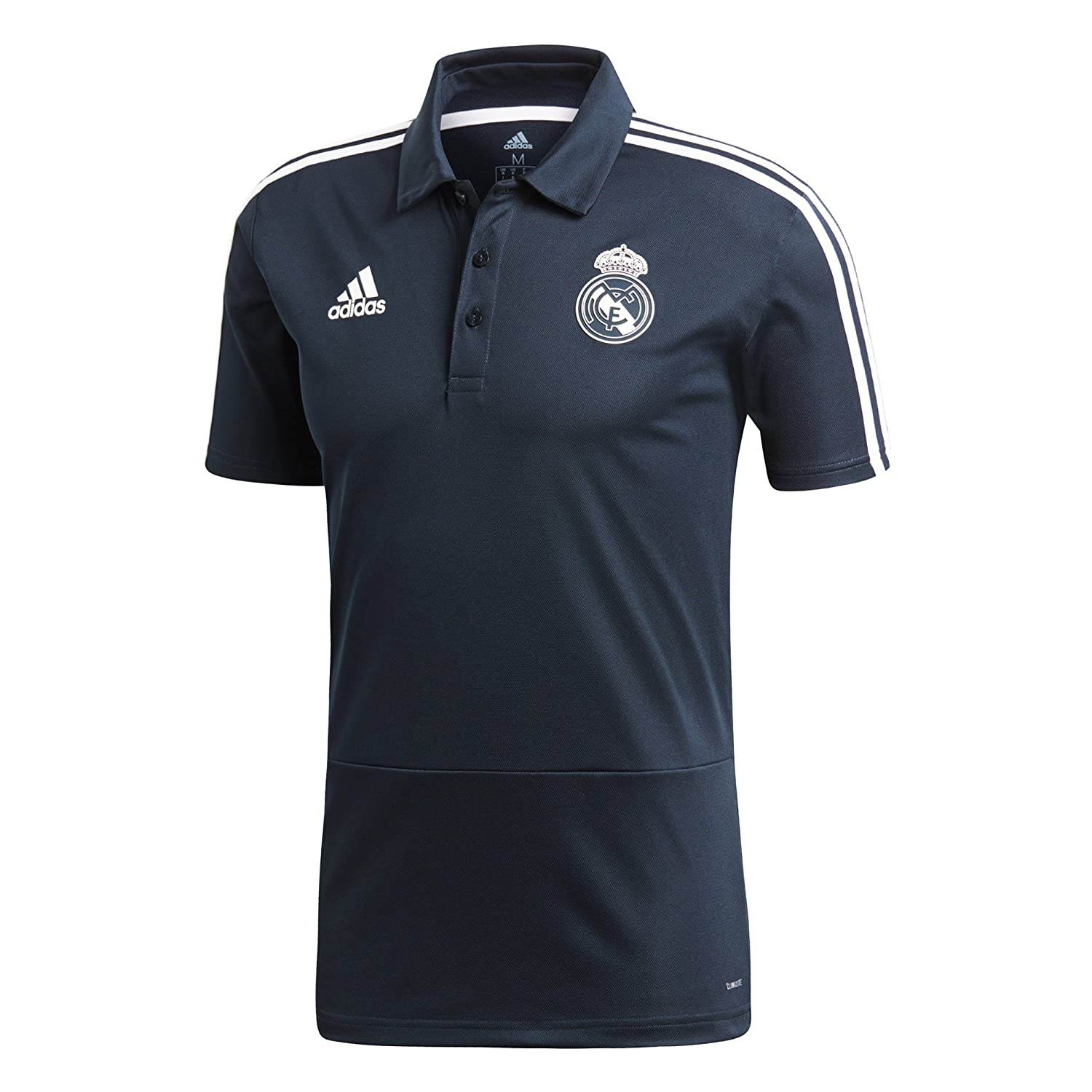 adidas Real, Polo para Hombre, Hombre, CW8669, Core White/Tech ...