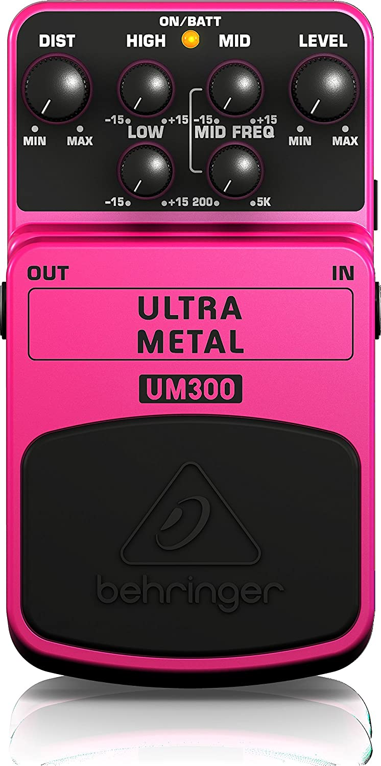 Behringer UM300 Heavy Metal Distortion Effects Pedal