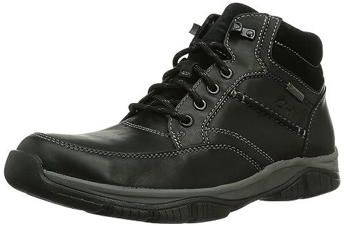 Clarks Rampartmid Gtx Noir - Chaussures Boot Homme