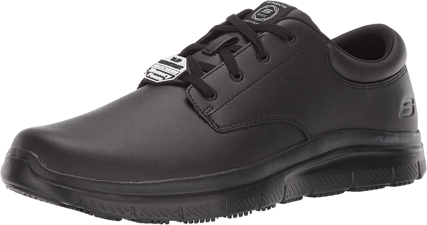 Skechers Men's Flex Advantage SR Fourche Food Service Shoe