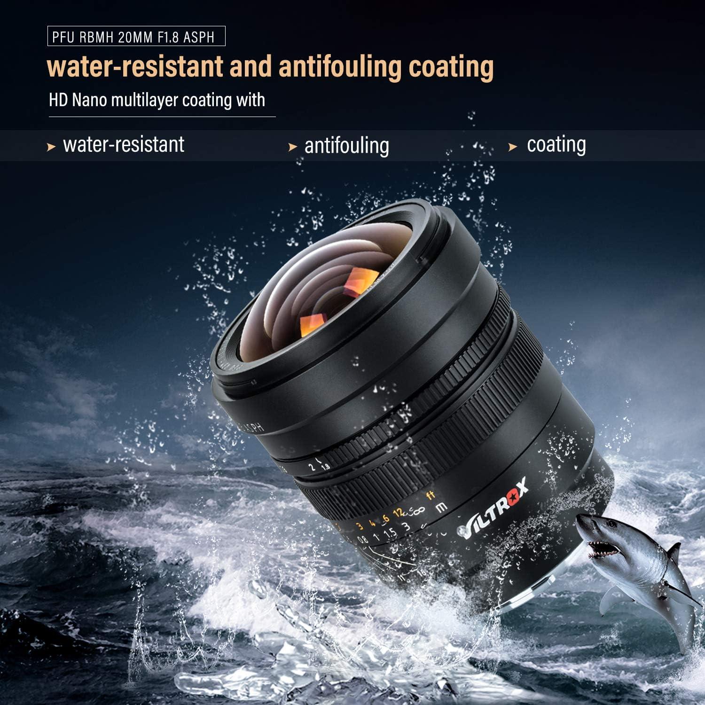 Viltrox PFU RBMH 20 mm F1.8 ASPH Vollbild-Weitwinkelobjektiv ...