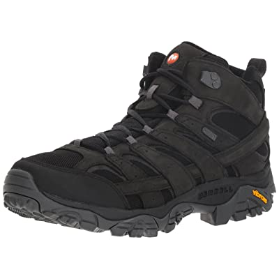 Merrell Men's Moab 2 Smooth Mid Waterproof Hiking Boot | Hiking Boots