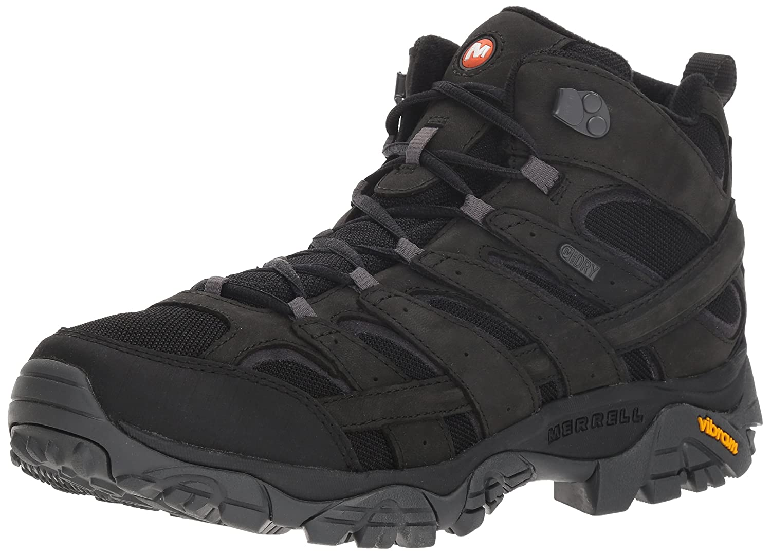 Merrell Men's Moab 2 Smooth Mid Waterproof Hiking Stiefel,