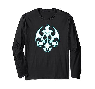 Futuristic T Shirt Designs | Amazon Com Futuristic Symbol Bright Symmetry Design Long Sleeve