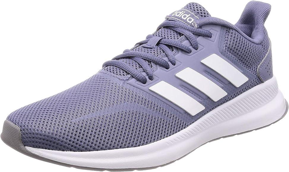 adidas Runfalcon SH W, Zapatillas para Correr para Mujer, Azul Raw Indigo FTWR White Grey Three F17 Raw Indigo FTWR White Grey Three F17, 42 2/3 EU: Amazon.es: Zapatos y complementos