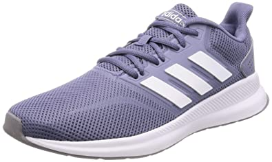 1f1cb504903b adidas Women s Runfalcon Running Shoes Blu Raw Indigo FTWR White Grey Three  F17