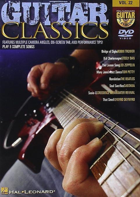 Guitar Play Along DVD para Volume 22: Guitar Classics. Para ...