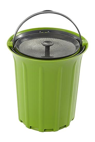 Enjoyable Full Circle Breeze Odor Free Countertop Compost Bin Green Slate Download Free Architecture Designs Parabritishbridgeorg