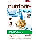 Nutribar Original Nutribar+ Original Meal Replacement Bars, Oatmeal Raisin, 5 Bars 5 count