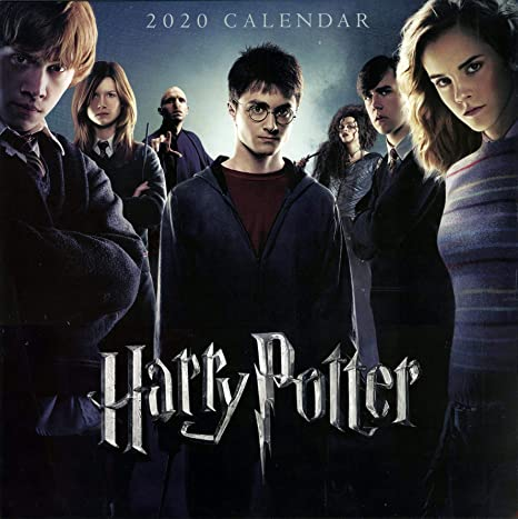 Harry Potter - Calendario 2020, 12 Meses, diseño Original en ...